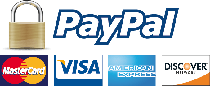 Credit cards accepted and processed through Square payment services
